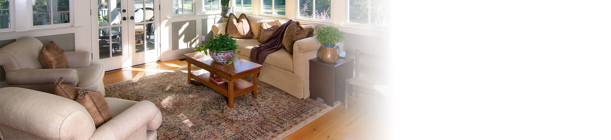 Sunroom Furniture Grouping